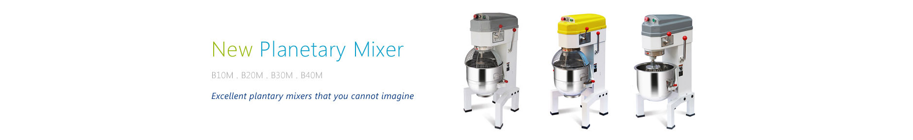 New Planetary Mixer M Series